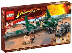 LEGO 7683 Indiana Jones  Fight On The Flying Wing    NON DISPONIBILE