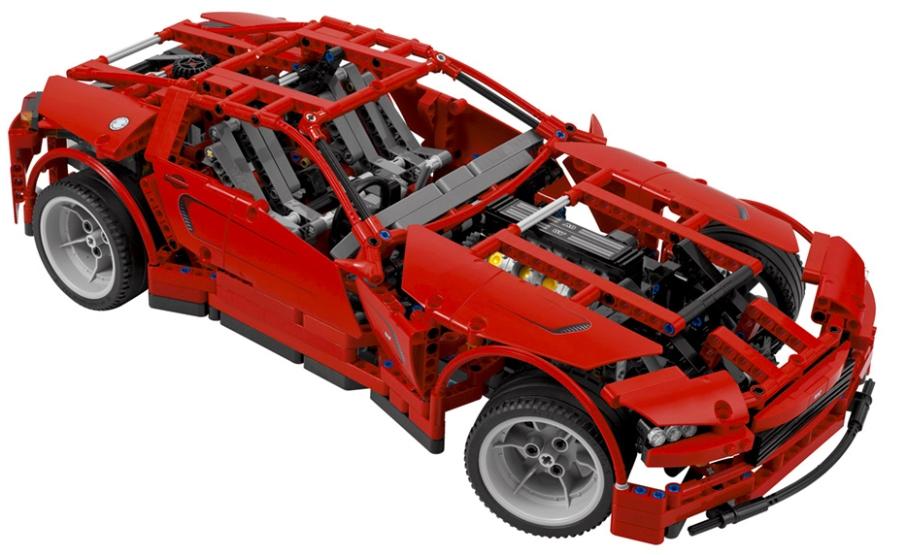 Con 8065 Piccolo Camion Lego Giocattoli Container OkZuiPXT