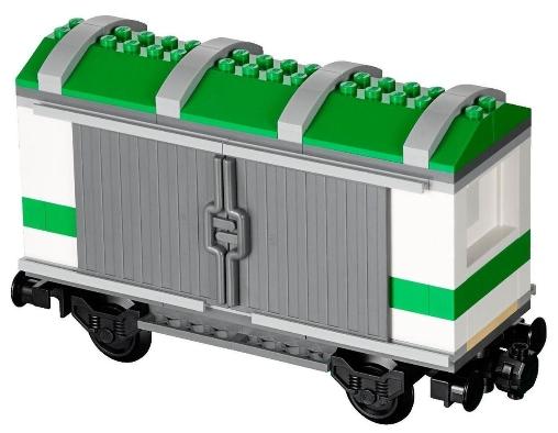 Lego 9V RC TRENO Ferrovia 7898 Vagone Gru