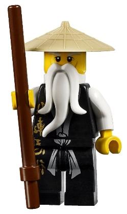 LEGO Ninjago personaggio scheletro 2259